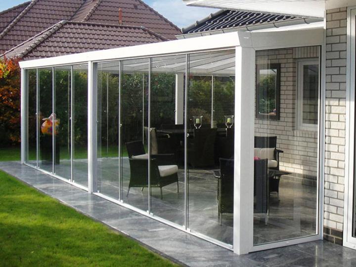 Glass furniture zaunelemente aluminium for Bad ideen 9m2